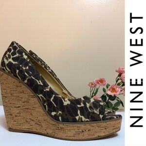 Level up! | 🐾  Nine West Print wedges